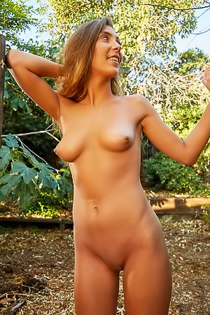 Kendall Cash Nude In Forest