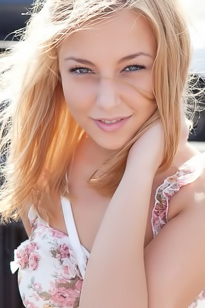 Cute Russian Blonde Nikia A In Moscow